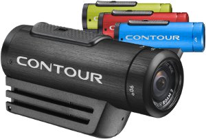 Picture shows all four colour variations of the Contour ROAM2 camera.