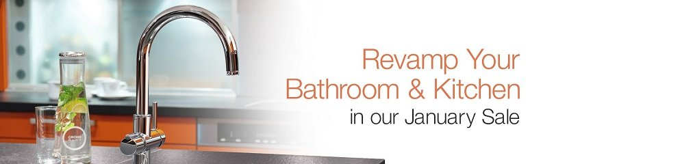 Revamp your bathroom and kitchen