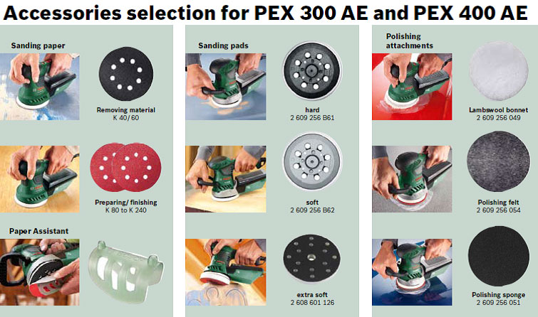 bosch pex 300 ae random orbit sander diy tools. Black Bedroom Furniture Sets. Home Design Ideas