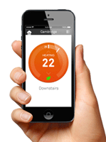 Control your heating with the Nest app