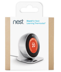 stand for nest learning thermostat diy tools. Black Bedroom Furniture Sets. Home Design Ideas