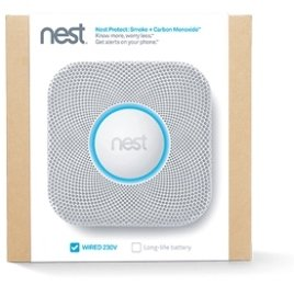 Nest Protect Wired Vs Battery | Nest Protect Smoke Plus Carbon Monoxide Wired 230v S2003lw Amazon