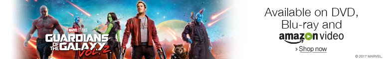 Guardians of the Galaxy Vol 2. on DVD, Blu-ray and Blu-ray 3D