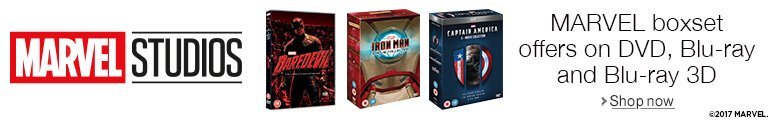 Marvel offers on DVD, Blu-ray and Blu-ray 3D