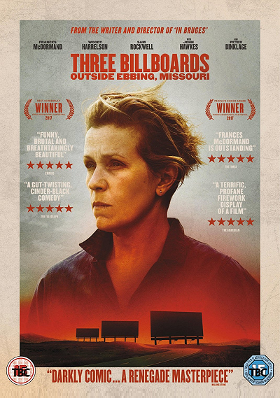 Frances McDormand, Three Billboads outside Ebbing, Missouri
