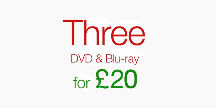 Three for £20