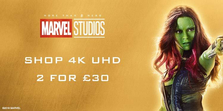 Marvel 2 4K UHDs for £30