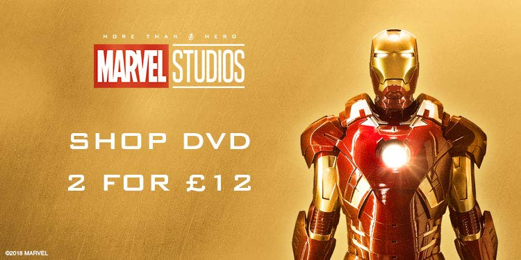 Marvel 2 DVD for £12