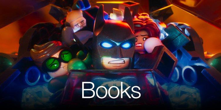 Lego Batman Books