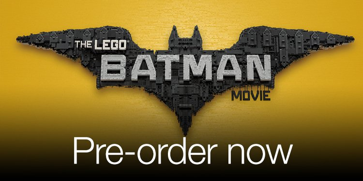 Pre-order Lego Batman