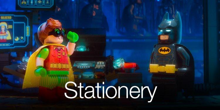 Lego Batman in Stationery