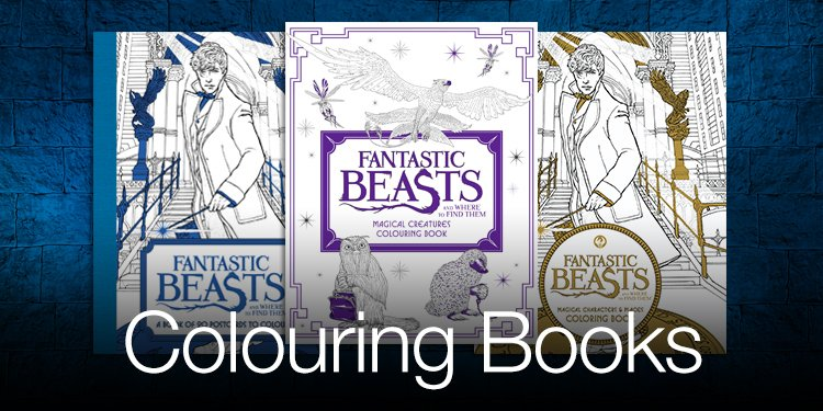 Wizarding World Colouring Books
