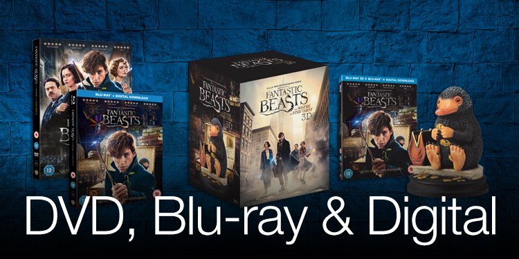 DVD, Blu-ray and Digital