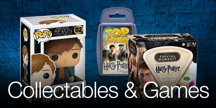 Harry Potter Collectables & Games