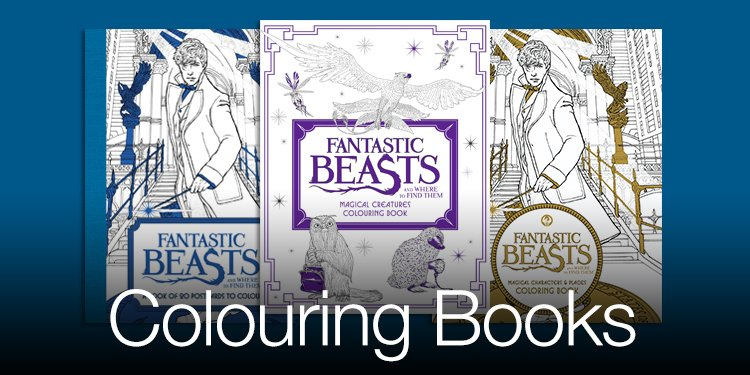 Wizarding World Colouring Books Amazon Video Movies Harry Potter