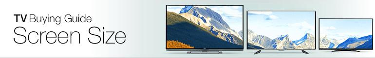 Amazon.co.uk TV Screen Size Buying Guide