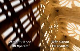 Image avec et sans HS System
