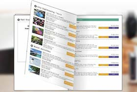 Easy to print multiple page booklets