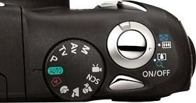 Molette de contrôle du PowerShot SX130IS