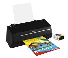 Epson Stylus S21 general purpose printer with individual inks