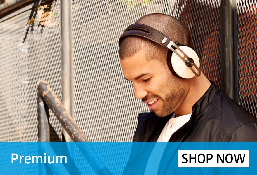 Premium Sennheiser Headphones