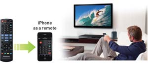 Use your iPhone as a remote