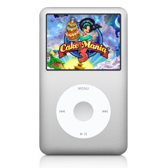 Apple iPod classic comes with three unique free games