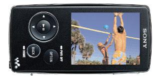 The Sony Video WALKMAN NWZA Series