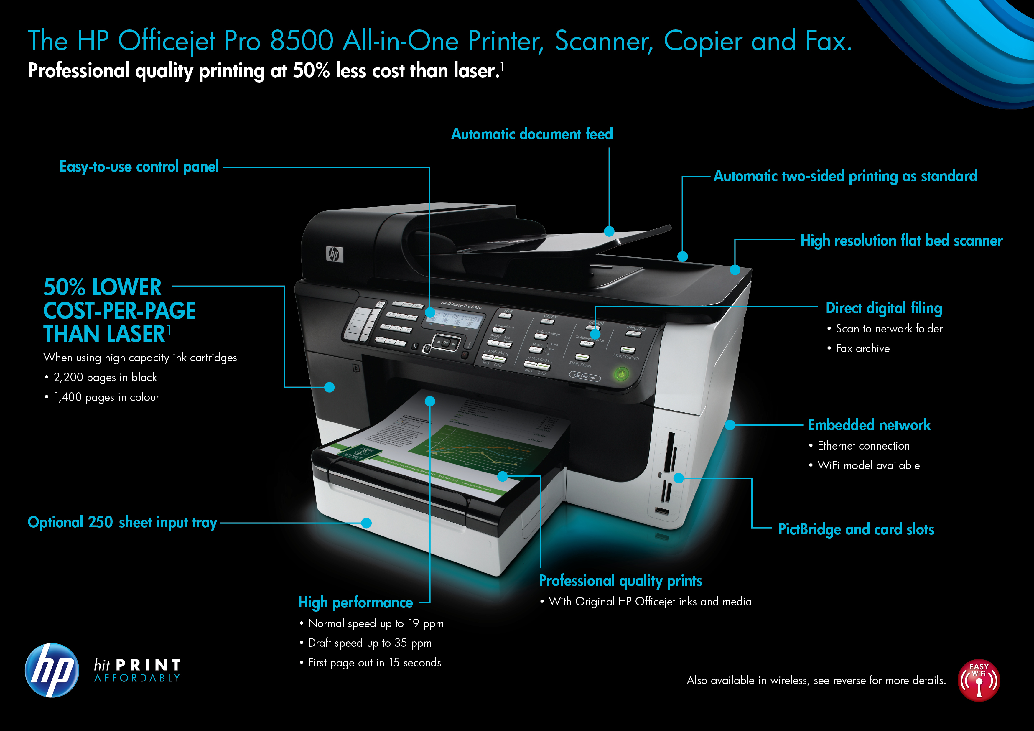 Hp Officejet Pro 8500 Wireless All