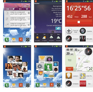 DEFY MINI screens - Instrument Dashboard, Social & Activity Graphs, Location Widget & Live Wallpaper, Music Widget