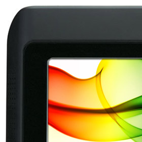 LED backlit screen technology for brighter colours and longer battery life