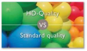 HD 1080p quality