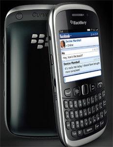 BlackBerry Curve 9320 Smartphone - Black