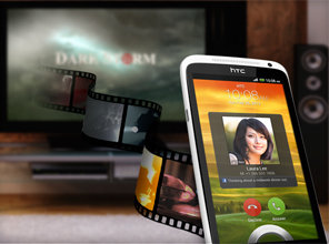 Wirelessly project a movie or listen to your favourite music while taking an incoming video call