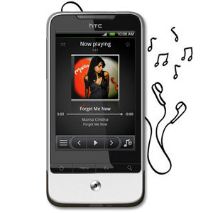 Easy and intuitive music player