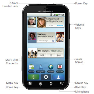 Tons of applications, widgets and games to choose from on Google's Android MarketTM.