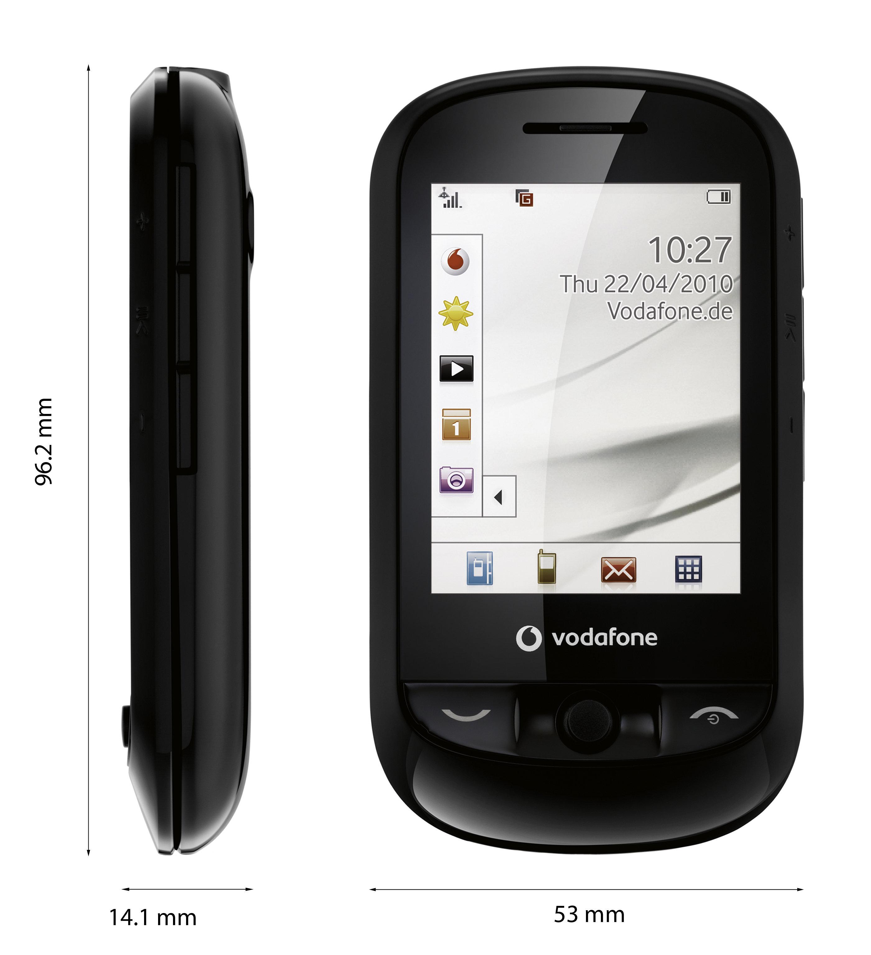 Amazon Uk: Vodafone 543 Pay As You Go Handset