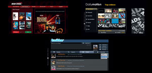 Get Acetrax movies, Dailymotion videos, and Twitter updates from the internet on your TV with VIERA CAST