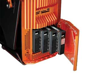 The case has been designed to allow you easy access to reconfigure your PC