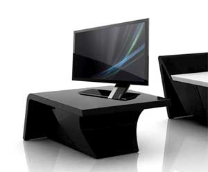 The fashionable and minimalistic Acer S5 series monitor features the new Zero Frame Design