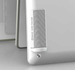 Dolby tuned stereo speakers