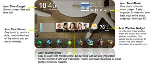 See more of the intuitive features available in the Acer TouchPortal