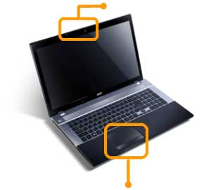 See  how all the features of the Aspire V3 fit together