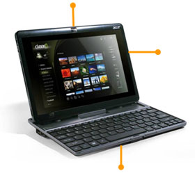 See how all the features of the ICONIA TAB W500+KB fit together.