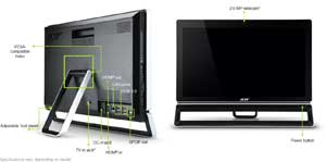 The slim, space-saving design of the ZS600 contains a wealth of connectivity options