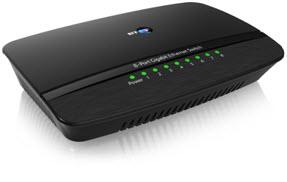 BT's 8-Port Gigabit Ethernet Switch