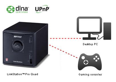 Buffalo LinkStation Pro Quad 8.0TB RAID 0/1/5/10 Network