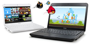 10 inch Touchscreen Android 4 Ice Cream Sandwich Netbook Tablet Hybrid GoNote GNT10BK