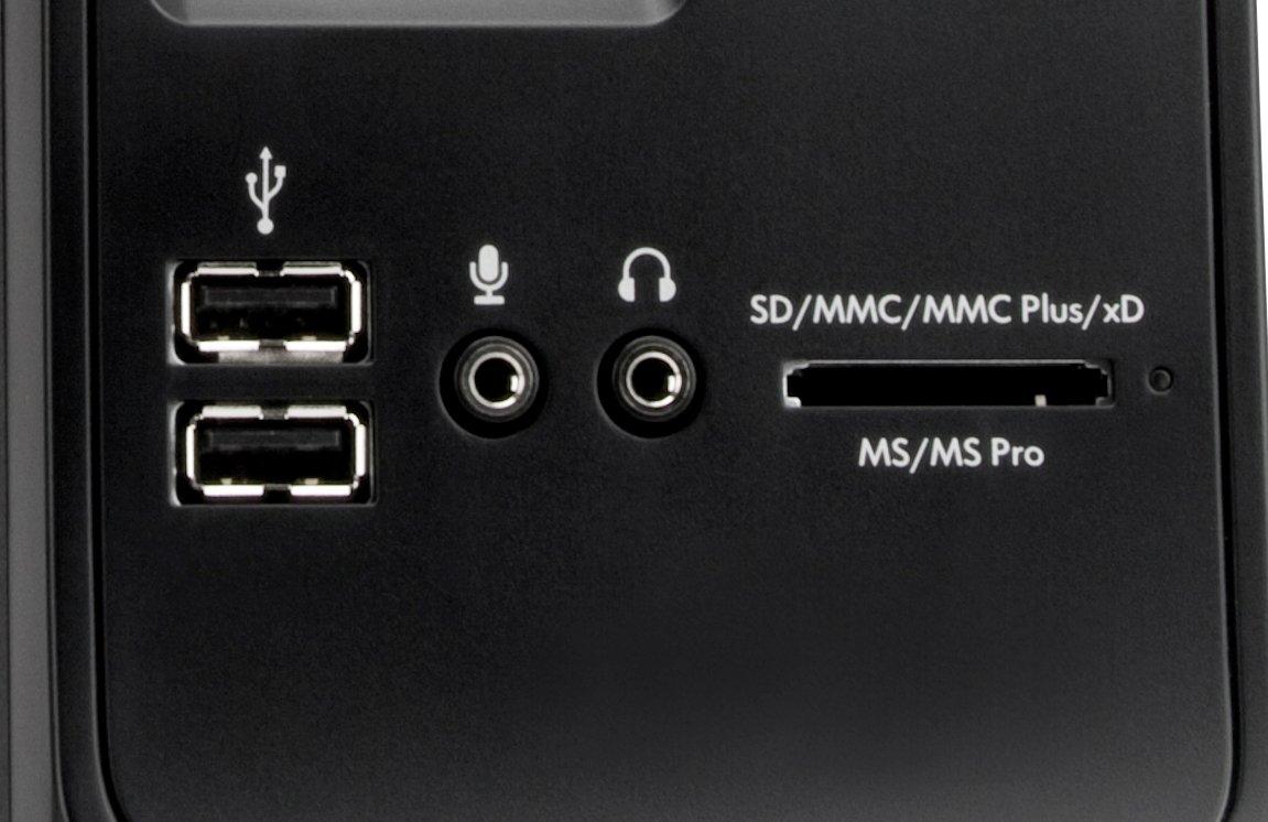 hp compaq cq1140ukm desktop pc with 20 inch lcd monitor