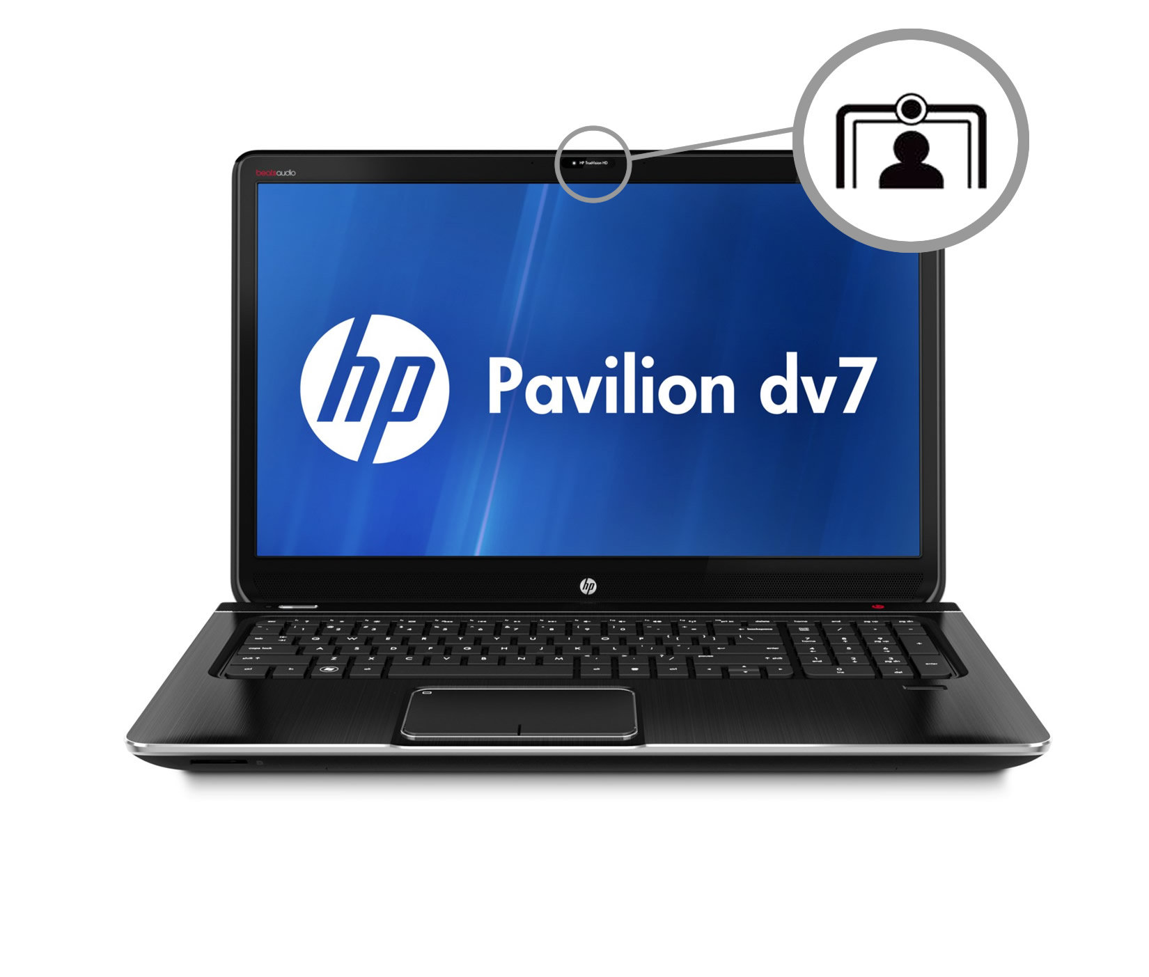 hp pavilion dv7 7051ea 17 3 inch laptop intel core i5 2450m 2 5ghz 6gb ram 750gb hdd windows. Black Bedroom Furniture Sets. Home Design Ideas